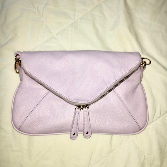 e0d2662f9c4 Francesca s Collections Bags   Light Purple Crossbody Purse With ...
